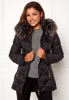 Chiara Forthi Cervina Down Jacket Black Bubbleroom.fi