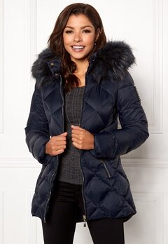 Chiara Forthi Cervina Down Jacket Navy Bubbleroom.fi