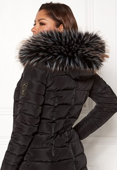 Chiara Forthi Chiara Faux Fur Collar Black / White / Brown Bubbleroom.fi