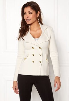 Chiara Forthi Chiara Heavy Knit Blazer Antique white Bubbleroom.fi