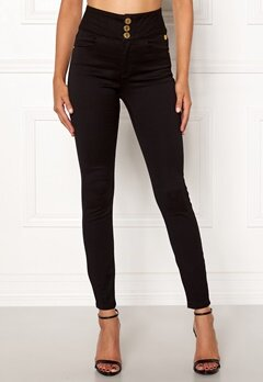 Chiara Forthi Chiara high waist jeans Black Bubbleroom.fi