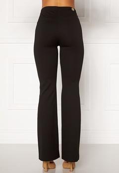 Chiara Forthi Christel slited pants Black Bubbleroom.fi