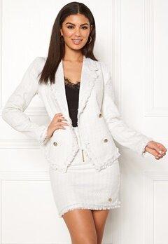 Chiara Forthi Cici bouclé jacket Winter white Bubbleroom.fi