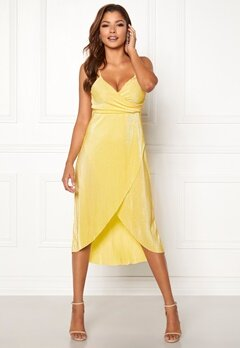 Chiara Forthi Corinne dress Yellow Bubbleroom.fi