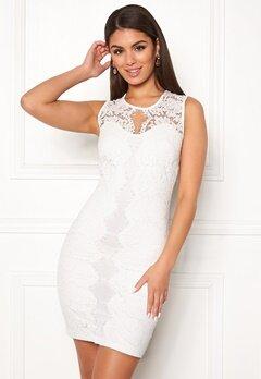 Chiara Forthi Corso scallop lace dress White Bubbleroom.fi
