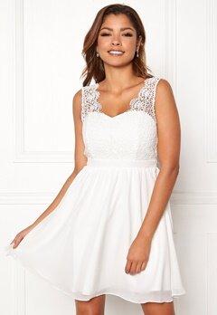 Chiara Forthi Daisy dress White Bubbleroom.fi