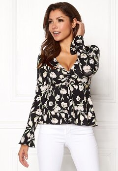 Chiara Forthi Deidre Top Black / Pink / Green Bubbleroom.fi