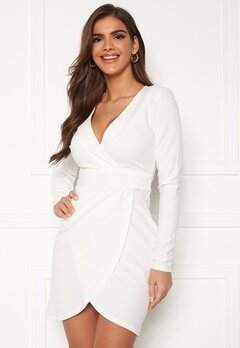 Chiara Forthi Delitia Wrap Dress  White Bubbleroom.fi