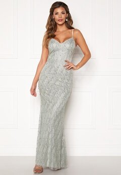 Chiara Forthi Diamond gown Silver grey Bubbleroom.fi