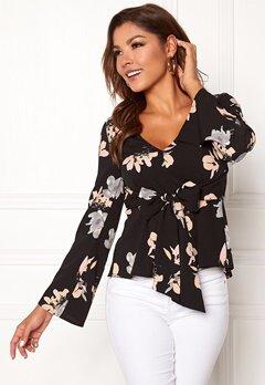 Chiara Forthi Domenica blouse Black / Floral Bubbleroom.fi