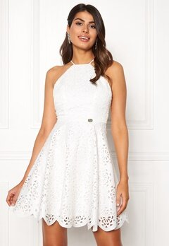 Chiara Forthi Elaine lazer cut dress White Bubbleroom.fi