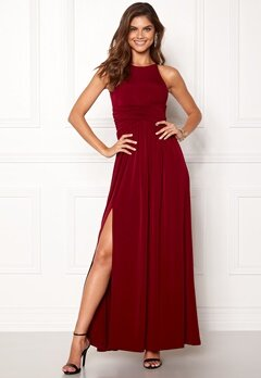 Chiara Forthi Erica Maxi Dress Wine-red Bubbleroom.fi