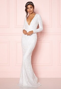 Chiara Forthi Evita embellished dress White Bubbleroom.fi