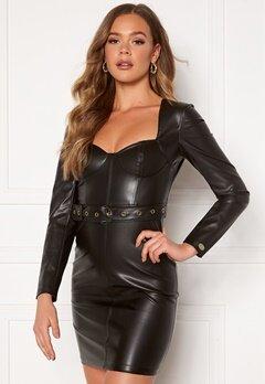 Chiara Forthi Gemma L/S Corset Dress Black Bubbleroom.fi