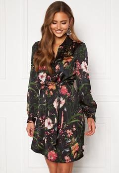 Chiara Forthi Genesis shirt dress Black / Patterned Bubbleroom.fi