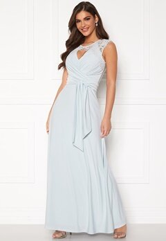 Chiara Forthi Genevra Gown Dusty blue Bubbleroom.fi