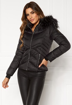Chiara Forthi Genua Short Down Jacket Black Bubbleroom.fi