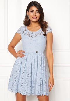 Chiara Forthi Guidia lace dress Light blue Bubbleroom.fi