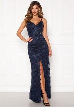 Chiara Forthi Irmeline gown  Dark blue Bubbleroom.fi