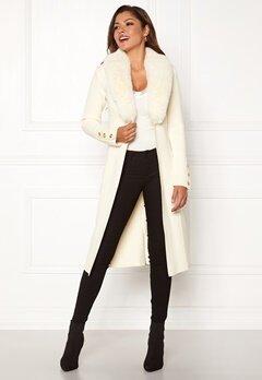 Chiara Forthi Ivy Long Coat Offwhite Bubbleroom.fi
