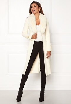 Chiara Forthi Ivy knitted Long Coat Offwhite Bubbleroom.fi