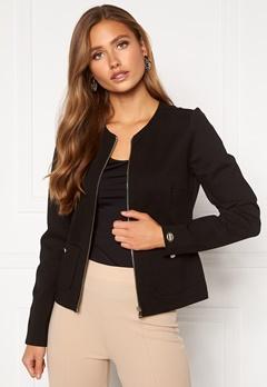 Chiara Forthi Jaquline button jacket Black Bubbleroom.fi
