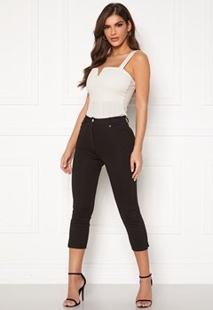 Chiara Forthi Juliana high water pants Black Bubbleroom.fi