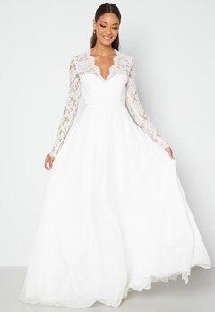 Chiara Forthi Kate lace gown White bubbleroom.fi