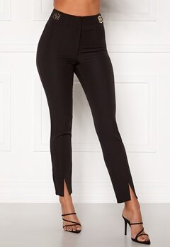 Chiara Forthi Katya buckle pants Black Bubbleroom.fi
