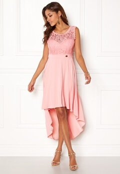 Chiara Forthi Kimberly Highlow Dress Light pink Bubbleroom.fi