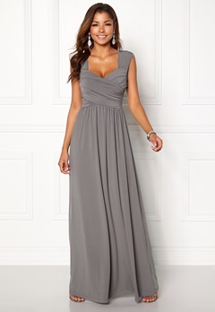 Chiara Forthi Kirily Maxi Dress Dark grey Bubbleroom.fi