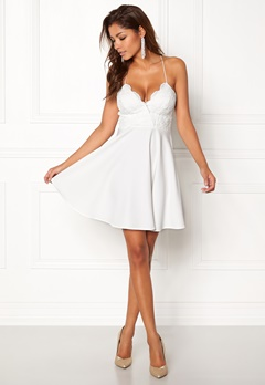 Chiara Forthi Kylee Dress White Bubbleroom.fi