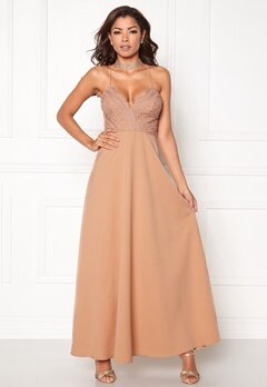 Chiara Forthi Kylee Maxi Dress Light pink Bubbleroom.fi