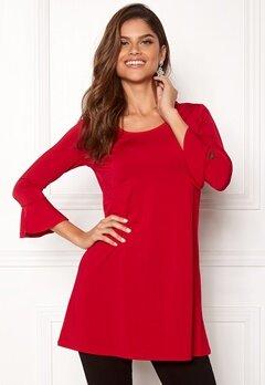 Chiara Forthi Leah tunic Red Bubbleroom.fi