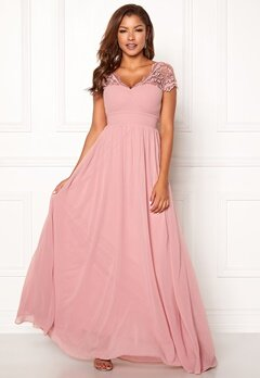 Chiara Forthi Leighann Gown Pink Bubbleroom.fi