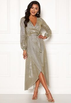 Chiara Forthi Leila sparkling dress Gold Bubbleroom.fi