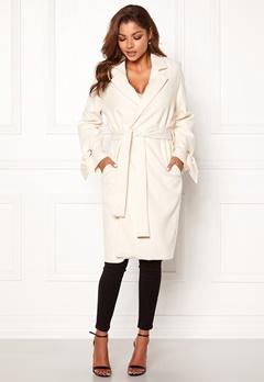Chiara Forthi Lissabon soft coat Offwhite Bubbleroom.fi