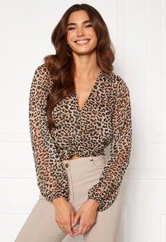 Chiara Forthi Lorenza blouse Leopard Bubbleroom.fi