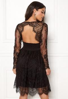 Chiara Forthi Lucette lace dress Black Bubbleroom.fi