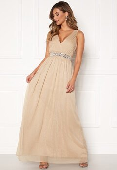 Chiara Forthi Madelaide Sparkling Gown Champagne Bubbleroom.fi