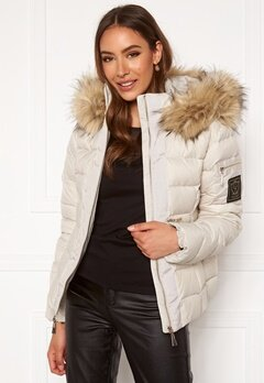 Chiara Forthi Madesimo down jacket Light beige Bubbleroom.fi