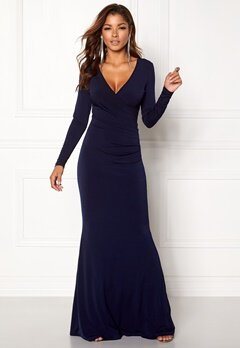 Chiara Forthi Mandy Maxi Dress Dark blue Bubbleroom.fi