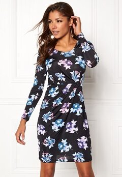 Chiara Forthi Marjorie Dress Purple / Blue / Floral Bubbleroom.fi