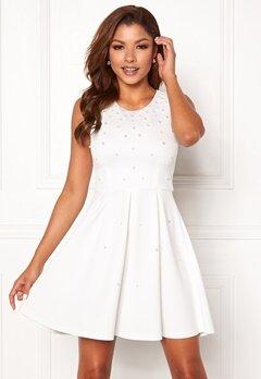 Chiara Forthi Marla pearl dress White Bubbleroom.fi