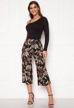 Chiara Forthi Mauritius pants Black / Green / Patterned Bubbleroom.fi