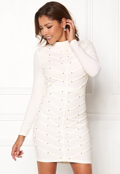 Chiara Forthi Micah studded dress Offwhite / Gold Bubbleroom.fi