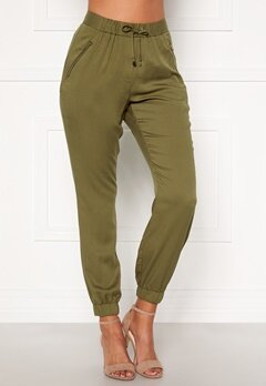 Chiara Forthi Nanja trousers Khaki green Bubbleroom.fi