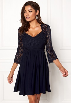 Chiara Forthi Nathalia Dress Dark blue Bubbleroom.fi