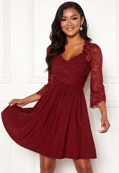 Chiara Forthi Nathalia Dress Wine-red Bubbleroom.fi