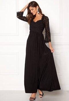 Chiara Forthi Nathalia Maxi Dress Black Bubbleroom.fi